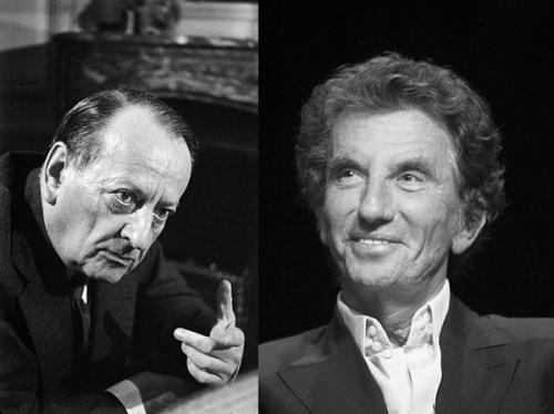 André Malraux et Jack Lang